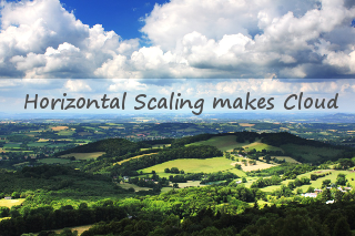 Horizontal Scaling – one of the benefits in cloud computing