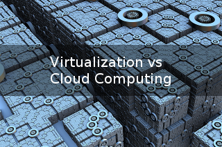 Virtualization vs Cloud Computing Image
