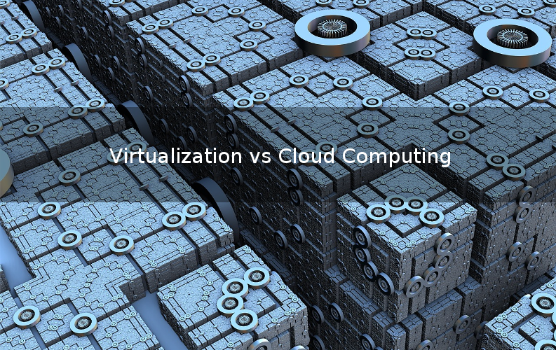 Virtualization vs Cloud Computing Picture