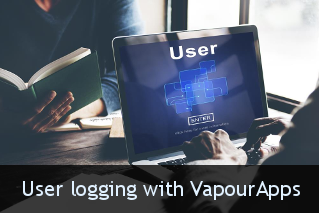 User Logging with VapourApps Featrured Image